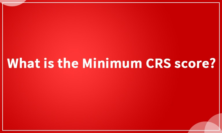 CRS score for express entry