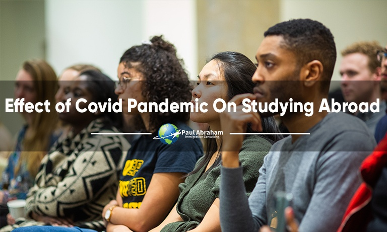 Effect of Covid Pandemic On Studying Abroad