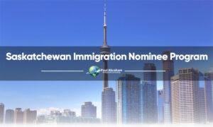 get PR in Saskatchewan
